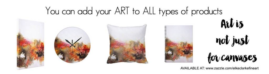 Sell Your Art Online on All Types of Zazzle Products Not Just the Traditional Wall Art Surfaces