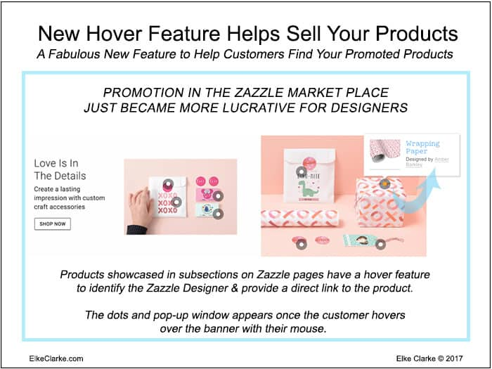 Valentines Day Zazzle Hover Over Feature Helps Sell Your Products
