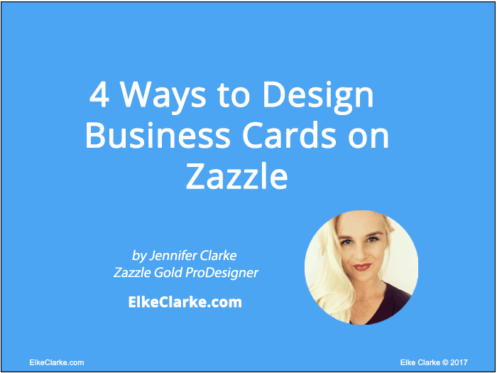 4 Ways to Design Bussiness Cards on Zazzle