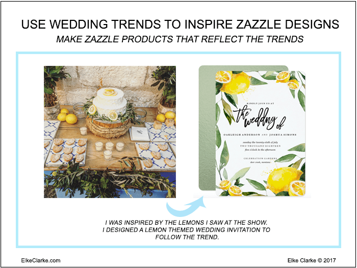 Use Wedding Trends to Inspire Zazzle Designs