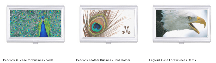 Design Business Card Holders Using Your Artwork On Zazzle
