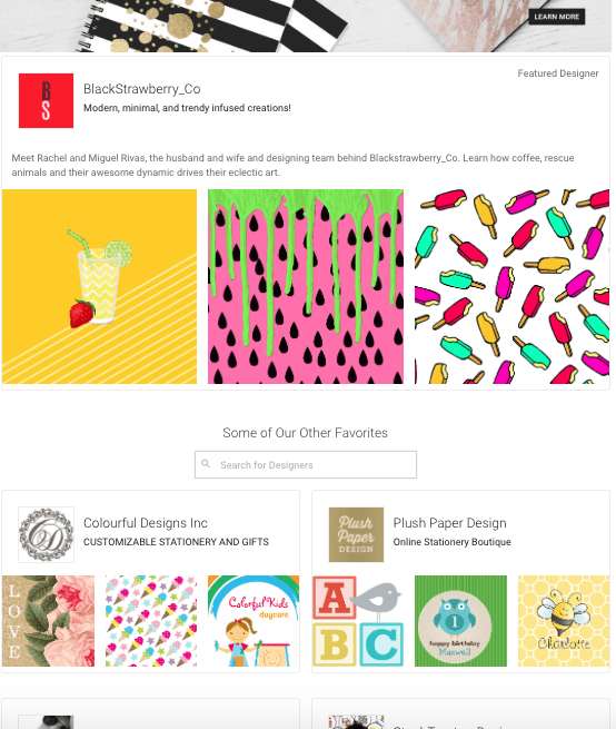 Being on the Featured Designers Page On Zazzle is a great way to promote your business