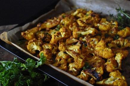 Anti-Inflammatory Sweet & Spicy Cauliflower