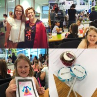 Superhero Daughter Day 2017 at TechnologyOne, Brisbane.