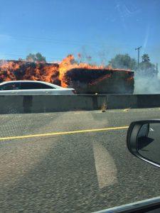 hay truck fire2