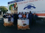 Thank you to Mac's Plumbing for donating 13,000 pounds of food!