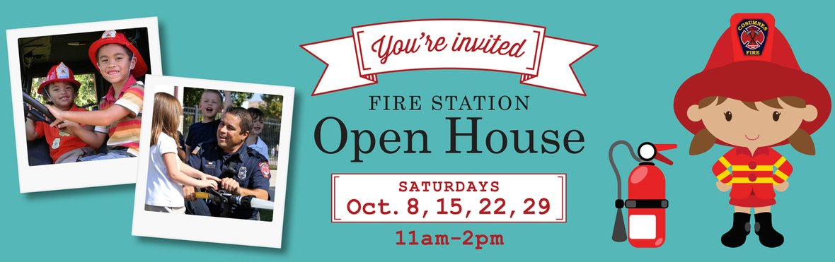 Fire Department Open Houses
