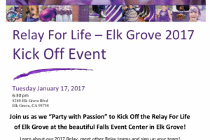 Relay for Life Kickoff