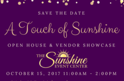 A Touch of Sunshine Open House and Vendor Showcase