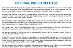 Best of Elk Grove Press Release