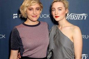 Greta Gerwig & Lady Bird Leading Actress Saoirse Ronan