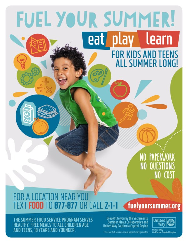 free Summer Meal Flier