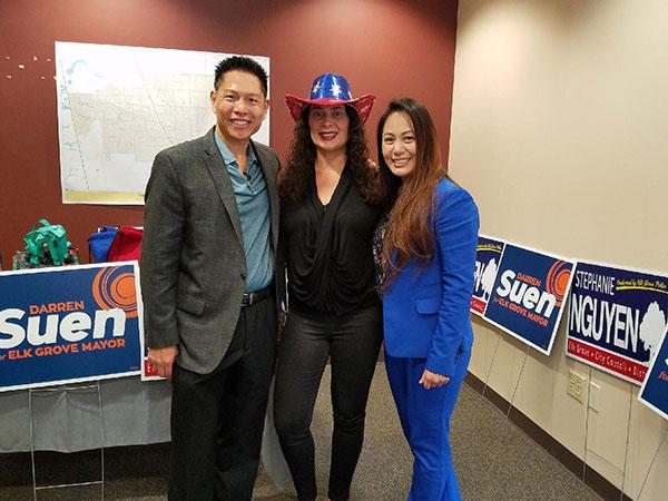Vice-Mayor Darren Suen & City Council Member Stephanie Nguyen Launch Their Campaigns