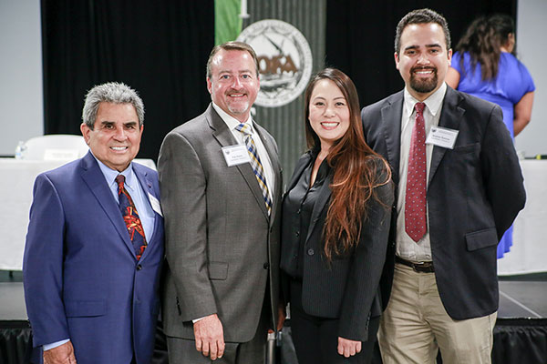 City Council Candidate Orlando Fuentes, City Council Member Pat Hume, City Council Member Stephanie Nguyen, & City Council Candidate Andres Ramos
