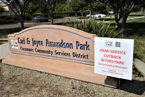 Services Cut At 10 Elk Grove Parks Due To Lack of Funding