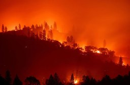 The Camp Fire rages on in Paradise, California.