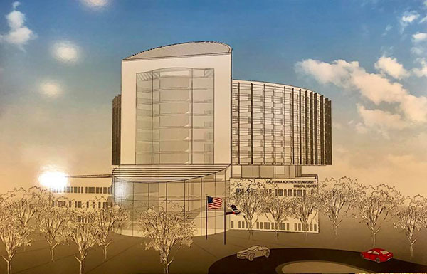 California Northstate University College of Medicine To Open $750 Million Dollar 250-Bed Teaching Hospital