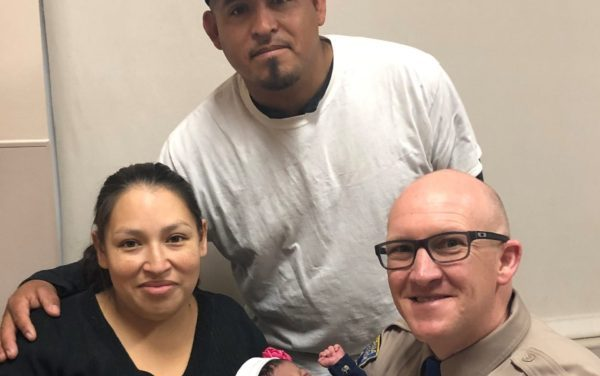 UPDATE: CHP Officer Delivers Baby Off Highway 99 In Sacramento