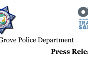 PRESS RELEASE: Elk Grove Police Department
