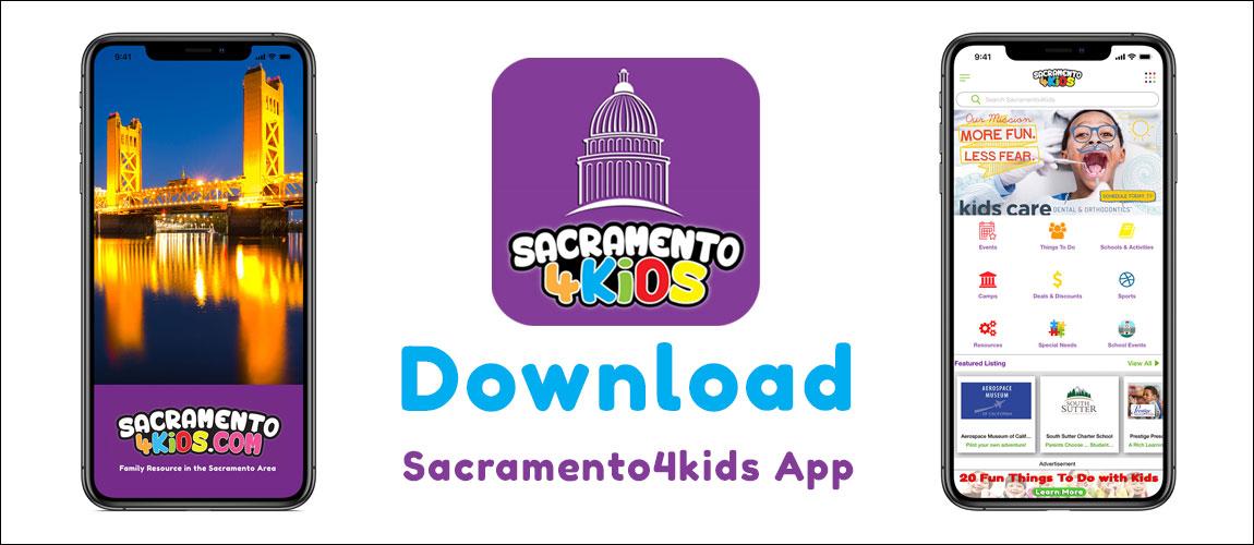 Sacramento4Kids App