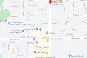 Reckless Driver Suspect Found In Bushes, Arrested By Elk Grove Police