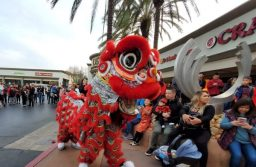 Journey To The Dumpling & Pho Bistro Celebrate Lunar New Year With Firecrackers & Lion Dances