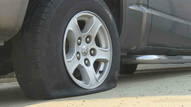 Flat Tire Leads To Robbery Arrests