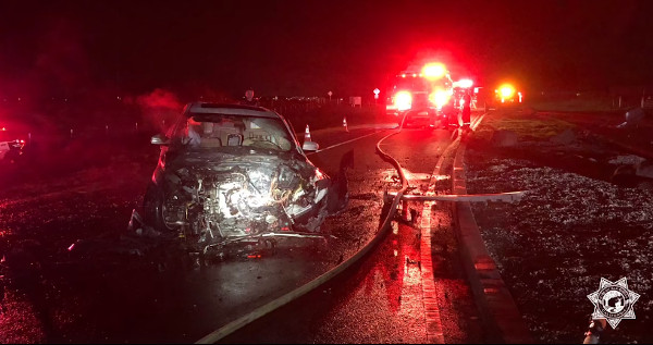 EGPD Officer Saves Man From Burning Car