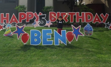 How One Elk Grove Family Made A 5 Year Old's Birthday Party Special Even In Quarantine