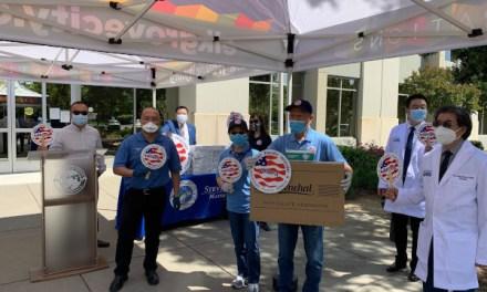 CNU College of Medicine, APAPA, & City of Elk Grove Donate Protective Medical Supplies