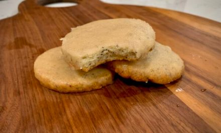 Recipe Of The Month: Chai Vanilla Shortbread Cookies
