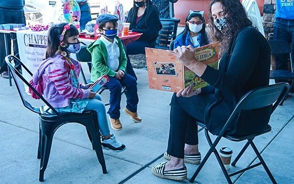 Mayor Singh-Allen Reads To Local Children At Black History Month Pop-up Event At Savvy House Coffee Bar