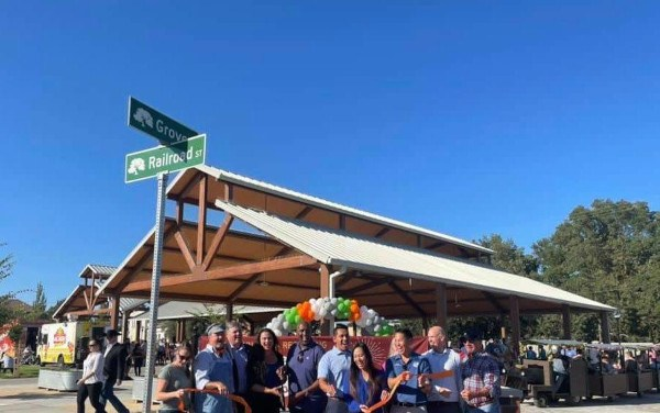 The Grand Re-Opening Of Old Town Elk Grove