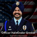 Galt Police Officer Harminder Grewal Passes Away After A Deadly Head-On Collision