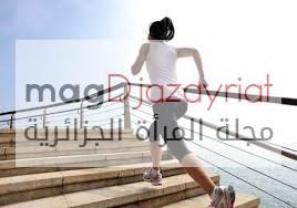 صعود الدرج أفضل من تناول الكافيين لرفع معدّل الطاقة في الجسم