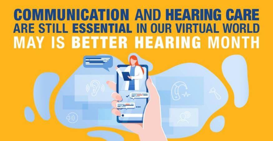 EAR: Ins and Outs for May Better Hearing