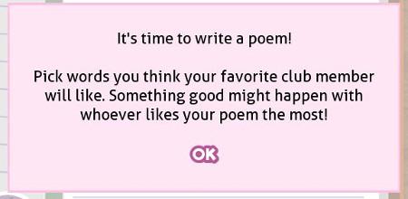 Poem game