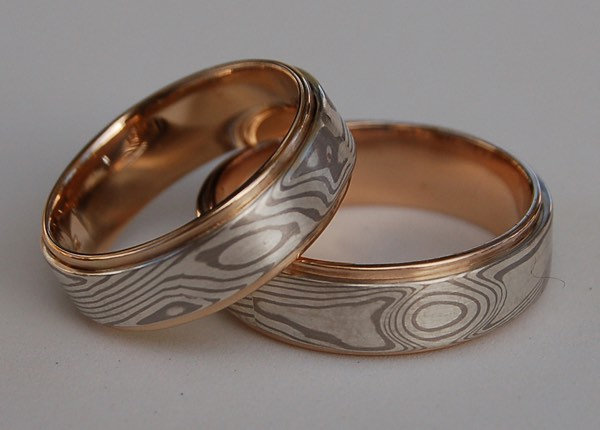 Mokume Gane Bands (Custom order only)