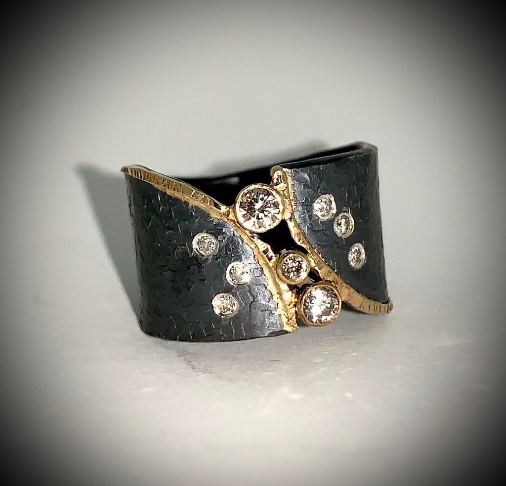 Nine Diamonds Ring