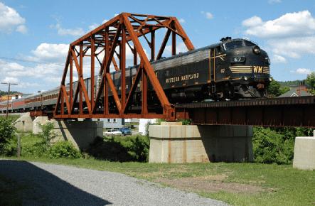 The Tygart River Bridge