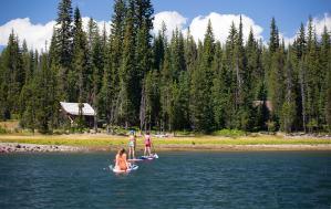 Elk Lake Resort Paddleboarding