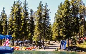 Elk Lake Resort Summer