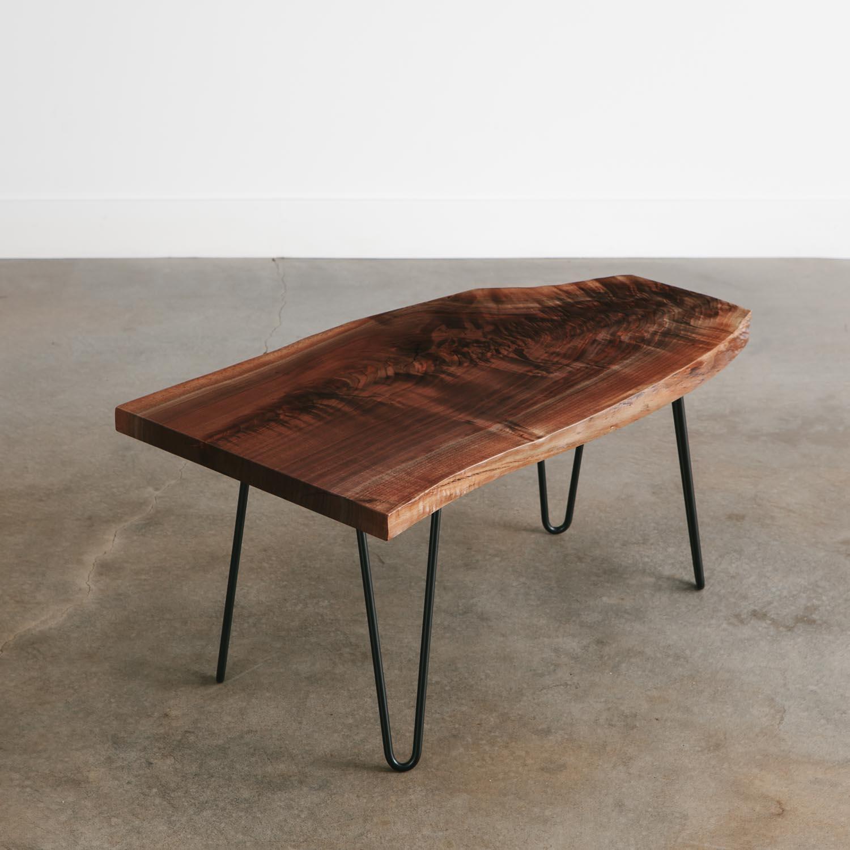 walnut side table no 197 elko
