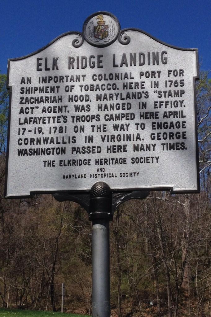 Elkridge Landing Sign