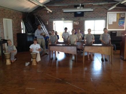 Mr Carr Gr 5 marimba band