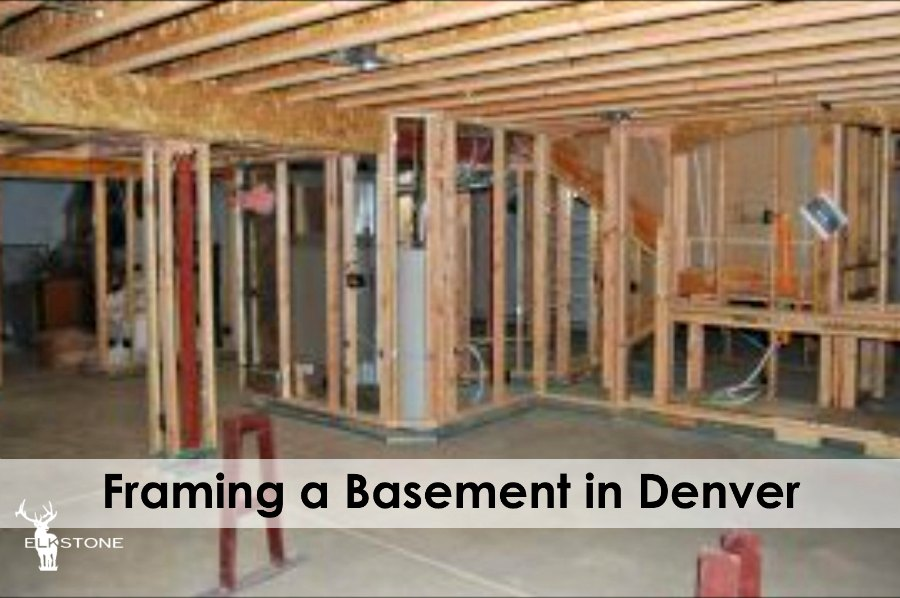Framing a basement in Denver