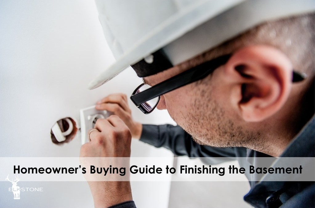 Homeowner's buying guide to finishing the basement