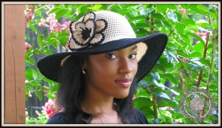Simply Southern summer hat pattern by ELK Studio