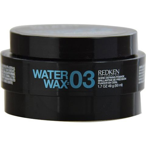 "<p>Redken 03 Water Wax Shine Defining Pomade, $17.44; <a href=""http://www.amazon.com/Redken-Water-Wax-Pomade-Ounces/dp/B0007CXYKO"">amazon.com</a></p><br />"