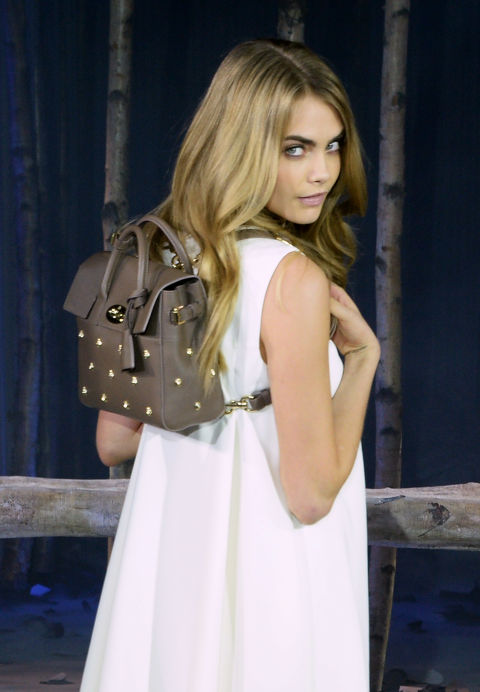 Brand: MulberryName: Cara Delevingne BagCost: $1,270-$2,880Buy it here: Mulberry